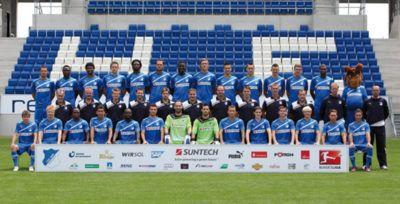 Mannschaftsfoto Hoffenheim